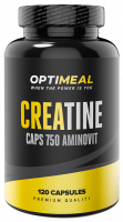 Креатин Optimeal 100% Creatine Monohydrate 750 мг 120 капс.
