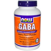 Now Gaba 100% pure powder 170 г.