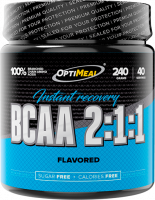 BCAA OptiMeal BCAA 2:1:1 instant recovery, апельсин, 240 г