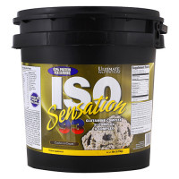 Протеин Ultimate Nutrition Iso Sensation 93, печенье-крем, 2270 г