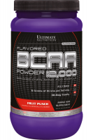 BCAA Ultimate Nutrition 12 000 Powder, фруктовый пунш, 228г