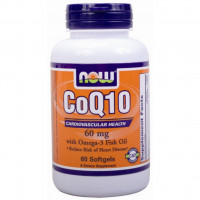 Витамины Now CoQ10 60mg 60 капс.