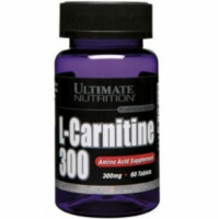 Карнитин Ultimate Nutrition L-carnitine 300 60 таб.